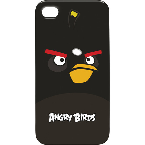 GEAR4 Angry Birds Bomb Bird for iPhone Case