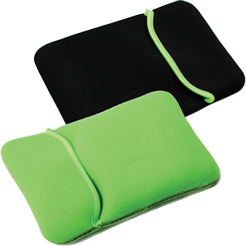 """GGI Reversible Neoprene 14.4"""" Sleeve (Black and Lime Green)"""