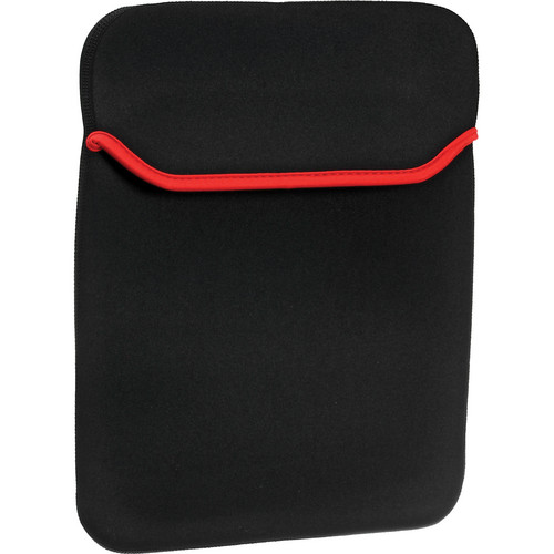 "GGI Reversible Neoprene 11"" Sleeve (Black and Red)"
