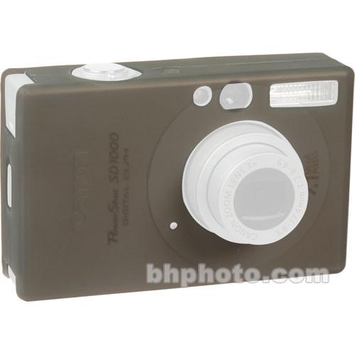 GGI Silicone Skin - for Canon PowerShot SD1000 Digital Elph Camera (Gray)