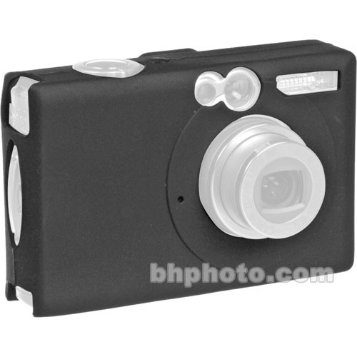 GGI Silicone Skin - for Canon PowerShot SD600 Digital Elph Camera (Black)