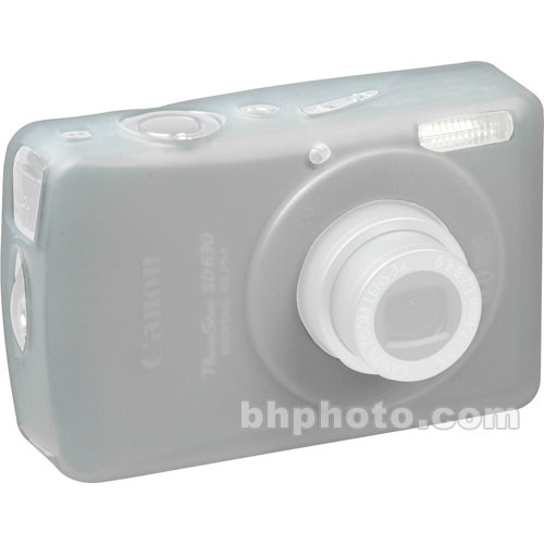 GGI Silicone Skin - for Canon PowerShot SD630 Digital Elph Camera (Clear)