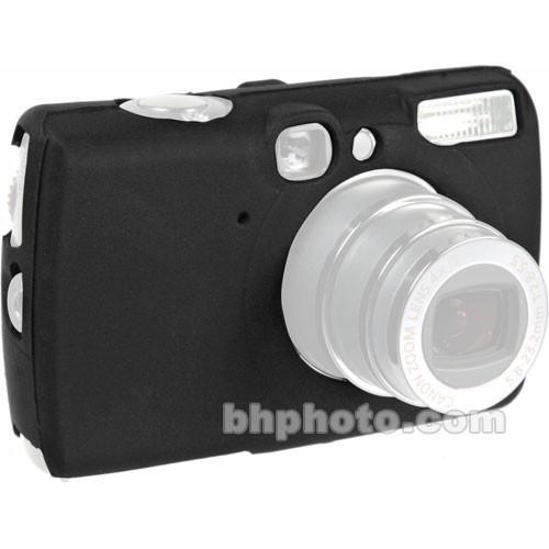 GGI Silicone Skin - for Canon PowerShot SD700 Digital Elph Camera (Black)