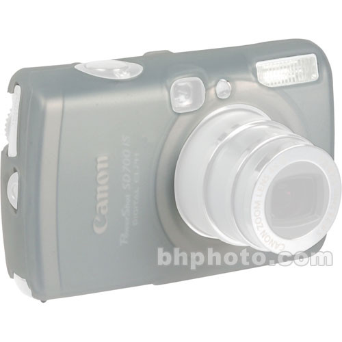 GGI Silicone Skin - for Canon PowerShot SD700 Digital Elph Camera (Clear)