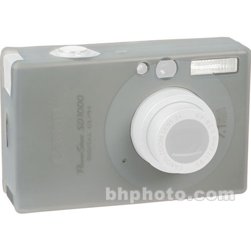 GGI Silicone Skin - for Canon PowerShot SD1100 Digital Elph Camera (Clear)