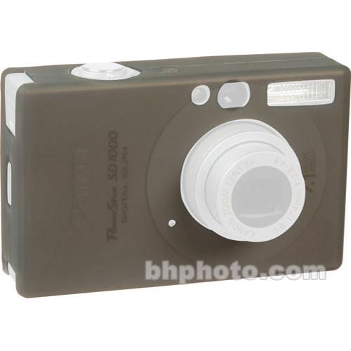 GGI Silicone Skin - for Canon PowerShot SD1100 Digital Elph Camera (Gray)