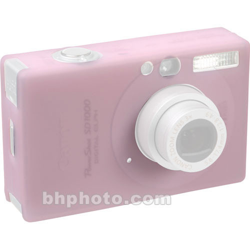 GGI Silicone Skin - for Canon PowerShot SD1100 Digital Elph Camera (Light Pink)