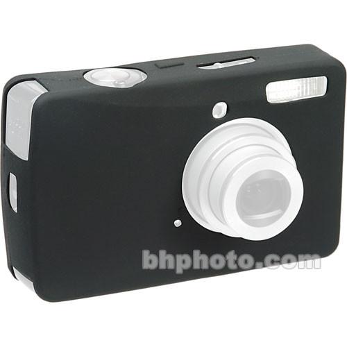 GGI Silicone Skin - for Canon PowerShot SD750 Digital Elph Camera (Black)