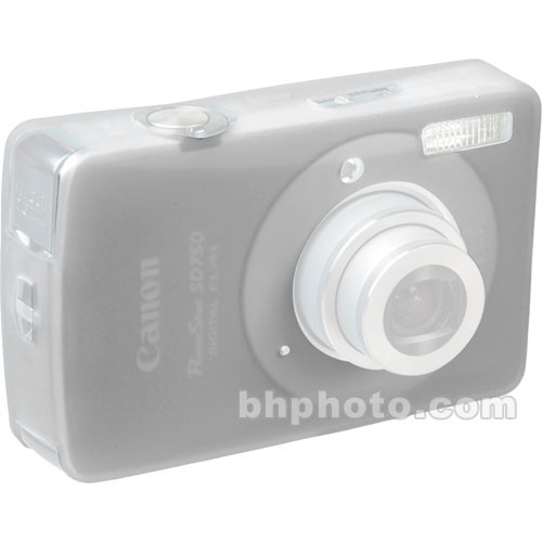 GGI Silicone Skin - for Canon PowerShot SD750 Digital Elph Camera (Clear)