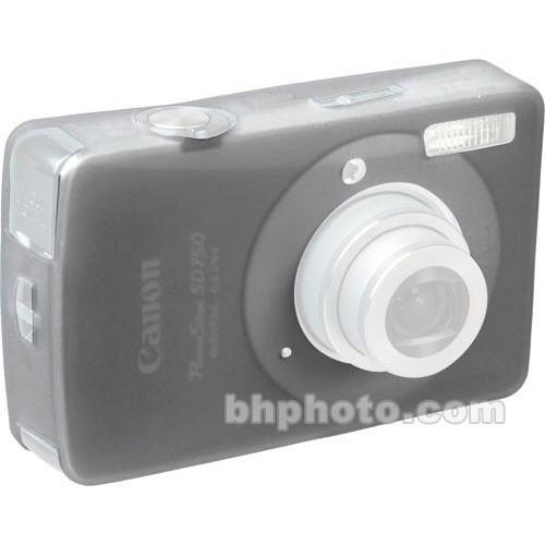 GGI Silicone Skin - for Canon PowerShot SD750 Digital Elph Camera (Gray)