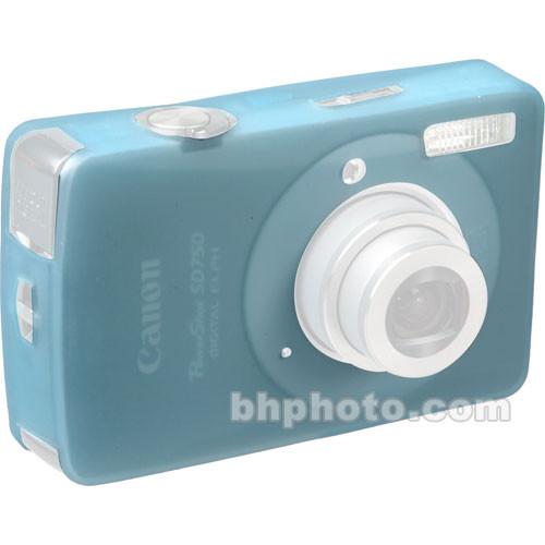 GGI Silicone Skin - for Canon PowerShot SD750 Digital Elph Camera (Light Blue)