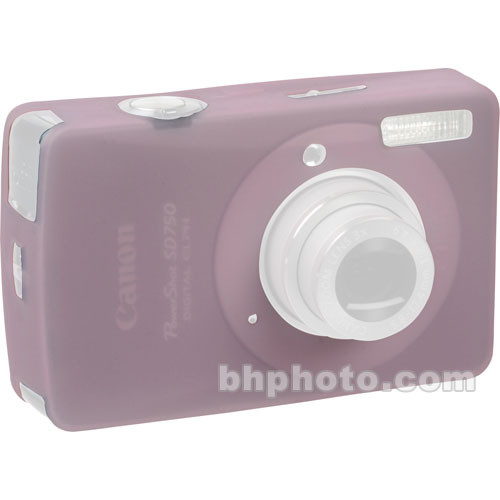 GGI Silicone Skin - for Canon PowerShot SD750 Digital Elph Camera (Light Pink)