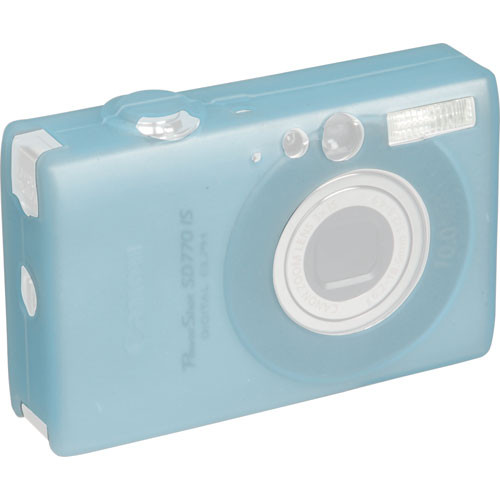 GGI Silicone Skin - for Canon PowerShot SD770 IS Digital Elph Camera (Light Blue)