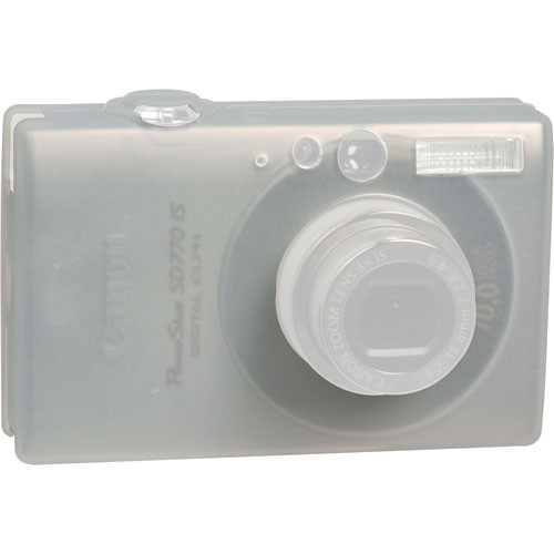 GGI Silicone Skin - for Canon PowerShot SD770 IS Digital Elph Camera (Clear)