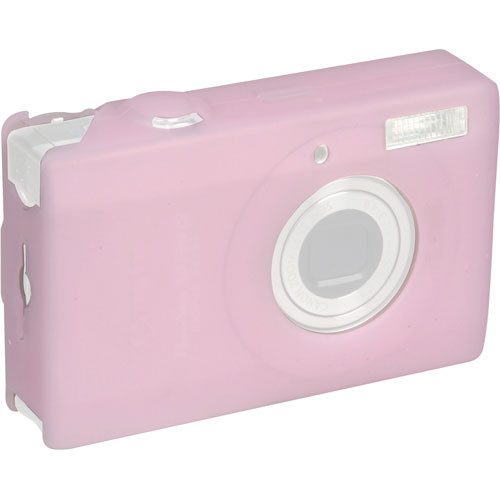 GGI Silicone Skin - for Canon PowerShot SD790 IS Digital Elph Camera (Light Pink)
