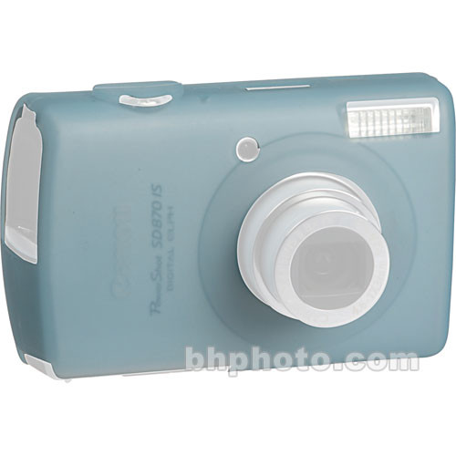 GGI Silicone Skin - for Canon PowerShot SD870 IS Digital Elph Camera (Light Blue)