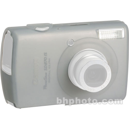GGI Silicone Skin - for Canon PowerShot SD870 IS Digital Elph Camera (Clear)