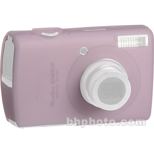 GGI Silicone Skin - for Canon PowerShot SD870 IS Digital Elph Camera (Light Pink)