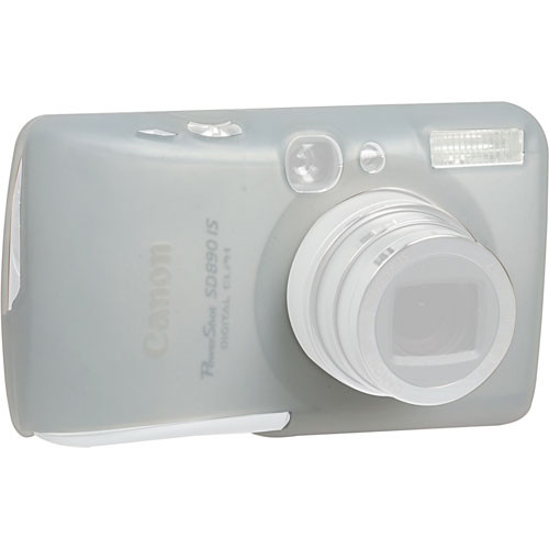 GGI Silicone Skin - for Canon PowerShot SD890 IS Digital Elph Camera (Clear)