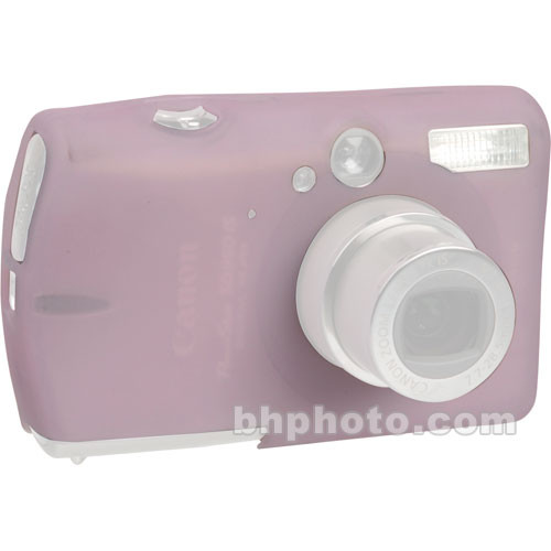GGI Silicone Skin - for Canon PowerShot SD950 IS Digital Elph Camera (Light Pink)