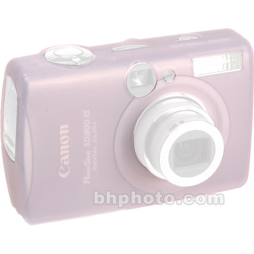 GGI Silicone Skin - for Canon PowerShot SD800 IS Digital Elph Camera (Light Pink)