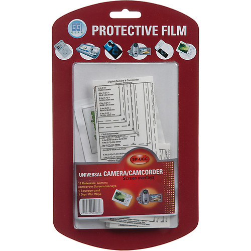 GGI Digital Camera/Camcorder Screen Protector Kit
