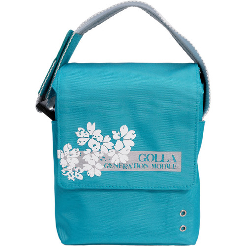 GOLLA Camera Bag S, Selia Shoulder Bag (Turquoise with Khaki Green Interior)