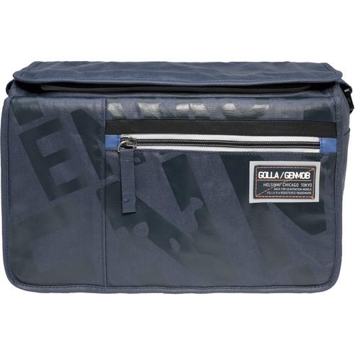 GOLLA Camera Bag L, Razo Shoulder Bag (Dark Blue with Blue Lining)