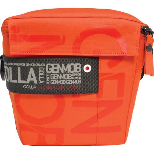 GOLLA Camera Bag M, Pepper Shoulder Bag (Orange with Army Green Lining)