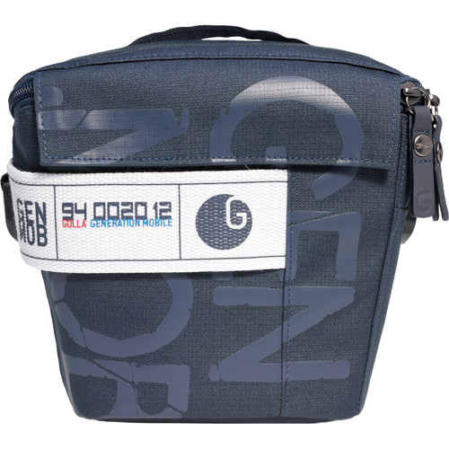 GOLLA Camera Bag M, Pepper Shoulder Bag (Dark Blue with Khaki Green Lining)
