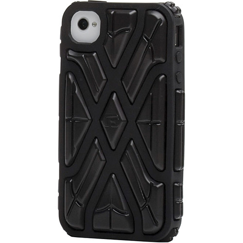 G-Form X-Protect Case for iPhone 4 & 4S (Black / Black)