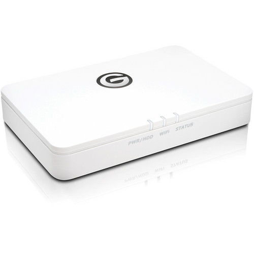 G-Technology 500GB G-CONNECT Wireless Storage for iPad and iPhone
