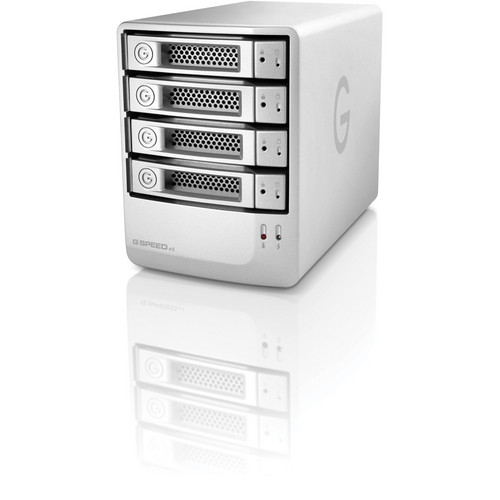 G-Technology 4TB G-SPEED eS 4-BAY RAID Array w/ 4x 1TB Drives and PCIe Controller