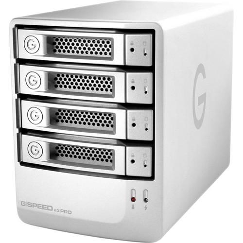 G-Technology 4TB G-SPEED eS PRO 4-Bay RAID Array w/ 4x 1TB Drives & PCIe RAID Adapter