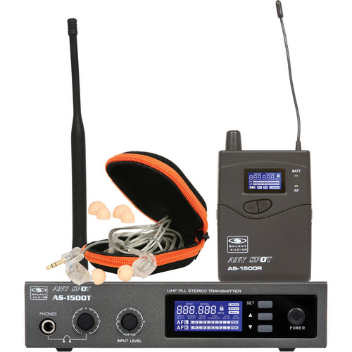 Galaxy Audio AS-1510 Personal Stage Monitoring System with EB10 Ear Phones