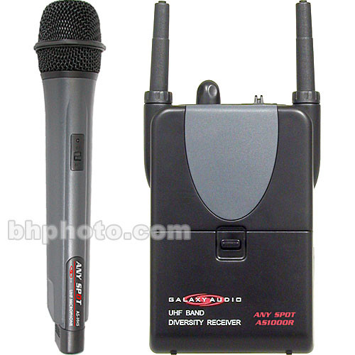 Galaxy Audio Wireless Handheld Microphone System