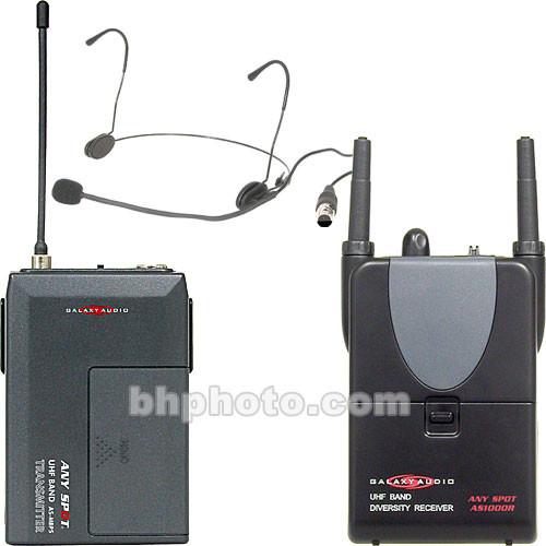 Galaxy Audio Wireless Head-worn Microphone System