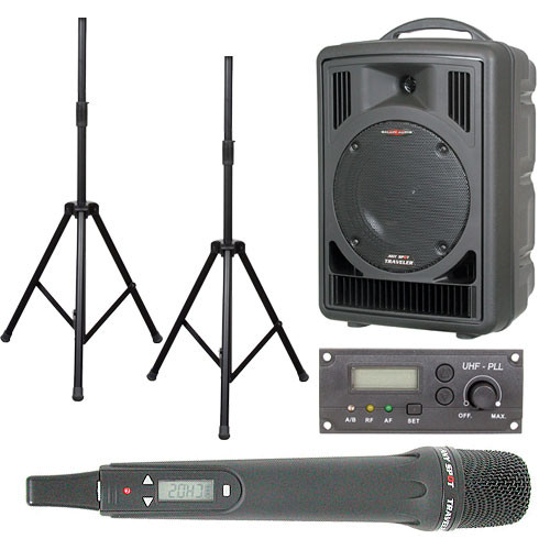 Galaxy Audio AS-TV81H Any Spot Traveler Portable PA