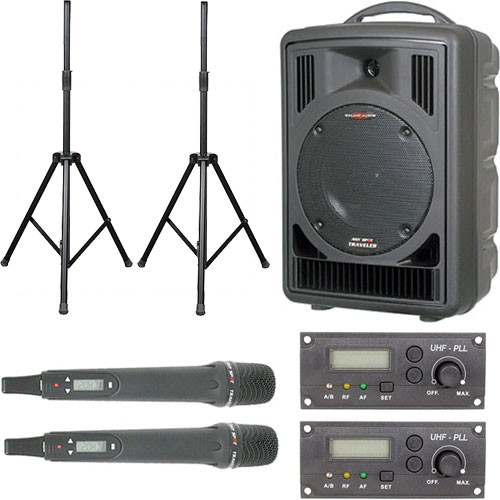 Galaxy Audio AS-TV82HP Any Spot Traveler Portable PA