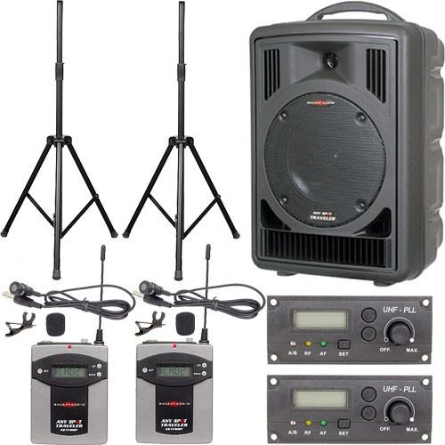 Galaxy Audio AS-TV82VP Any Spot Traveler Portable PA