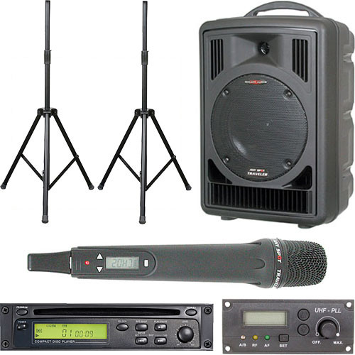 Galaxy Audio ASTV8C1HP Any Spot Traveler