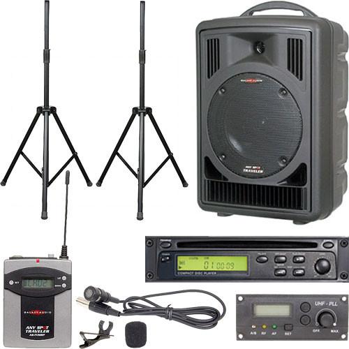Galaxy Audio ASTV8C1VP Any Spot Traveler Portable PA