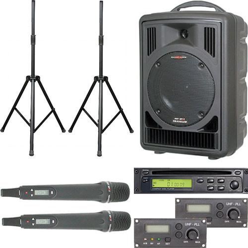 Galaxy Audio ASTV8C2HP Any Spot Traveler