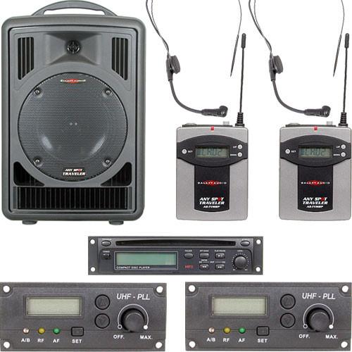 Galaxy Audio Any Spot Traveler Portable PA System