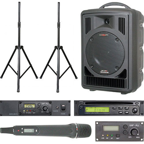 Galaxy Audio ASTV8CT1HP Audio Any Spot Traveler