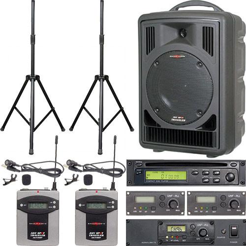 Galaxy Audio ASTV8CT2VP Any Spot Traveler Portable PA