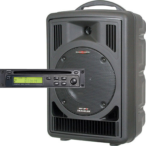 Galaxy Audio AS-TV8C Any Spot Traveler Portable PA with CD Player