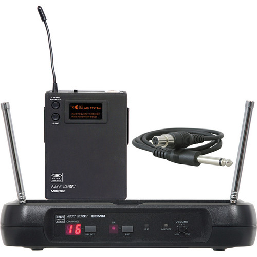 Galaxy Audio ECMR/52GTR Wireless Microphone System (D)
