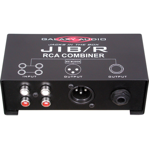 Galaxy Audio JIB/R Jacks In The Box Source Combiner