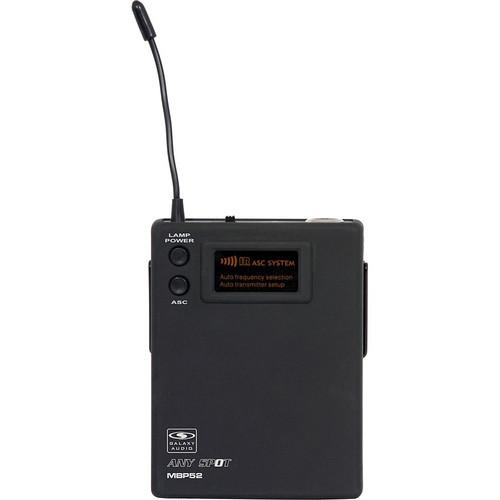 Galaxy Audio MBP52 Wireless Bodypack Transmitter